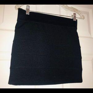 Charlotte Russe Skirts - Charlotte Russe women  Black mini Shirt, Size S.